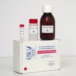 Kit enzymatique pour la détermination du D-glucose et D-fructose.