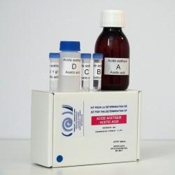 Kit enzymatique pour la détermination de l'acide acétique.
