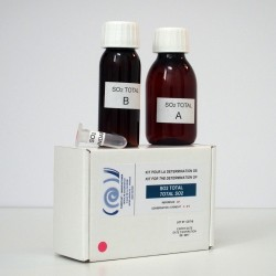 Colorimetric kit for determination of total SO2.