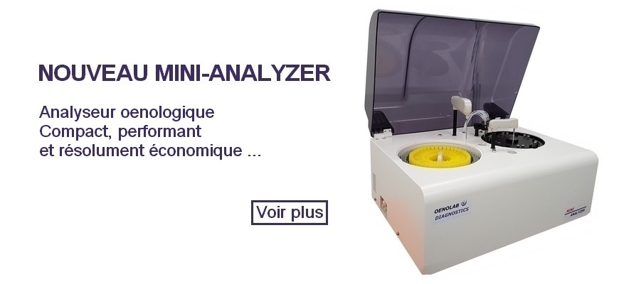 Analyseur oenologique