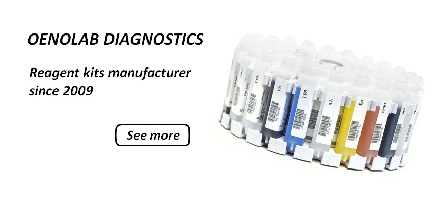 Reagent kits for wine analysis